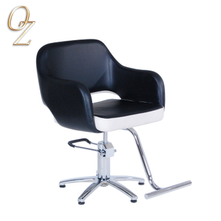 Premium Salon Furniture Wholesale US Standard Hydraulic and Reclining Hair Dressing Chair Haircut Chairs