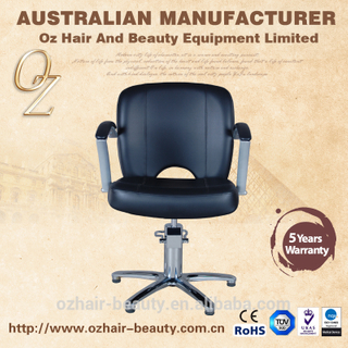 Simple Style Salon Chair Hair Cut Salon Chairs Salon Styling Chair With 5 Stars Base