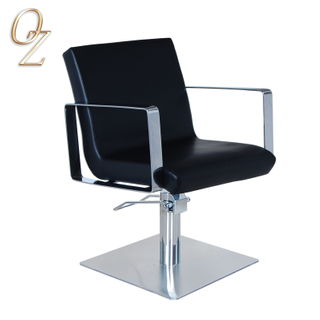 Hot Sale Salon Furniture Wholesale Australian Standard High Density Foam Hair Dressing Chair With Footrest Styling Chairs