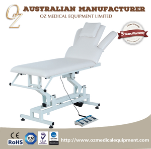 Professional Medical Grade Electric Treatment Bed Australian Manufacturer Examination Bed Recovery Room Treatment Chair