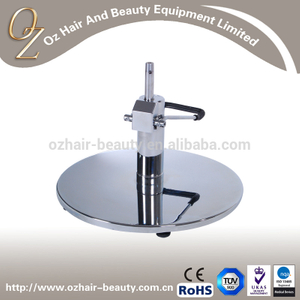 Strong swivel hydraulic round base salon chair With pump
