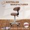 New Loft Style High Standard Stool Chair for Salon With Backrest