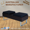 Hairdresser Salon Waiting Sofas Wooden Waiting Bench Simple Style Waiting Chair