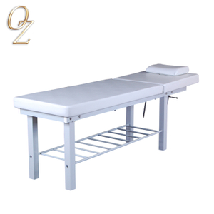Australian Owned Pedicure Table Latex Foam Beauty Couch White Massage Bed For Sale Manufacturer