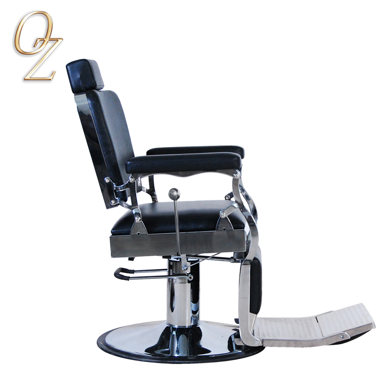 Barber Chair Manufacturer With Headrest Hydraulic Reclining Styling Chairs Factory Beauty Equipment For Sale