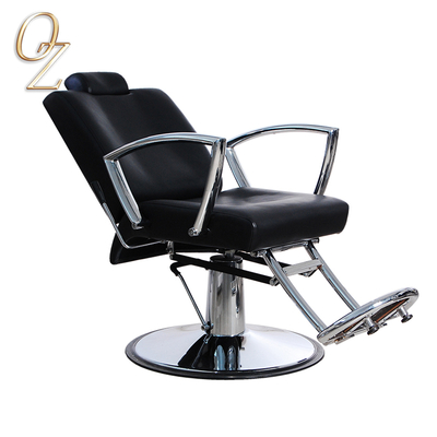 Hydraulic Pump Barber Styling Chair Excellent Beauty Salon Chair With Footrest