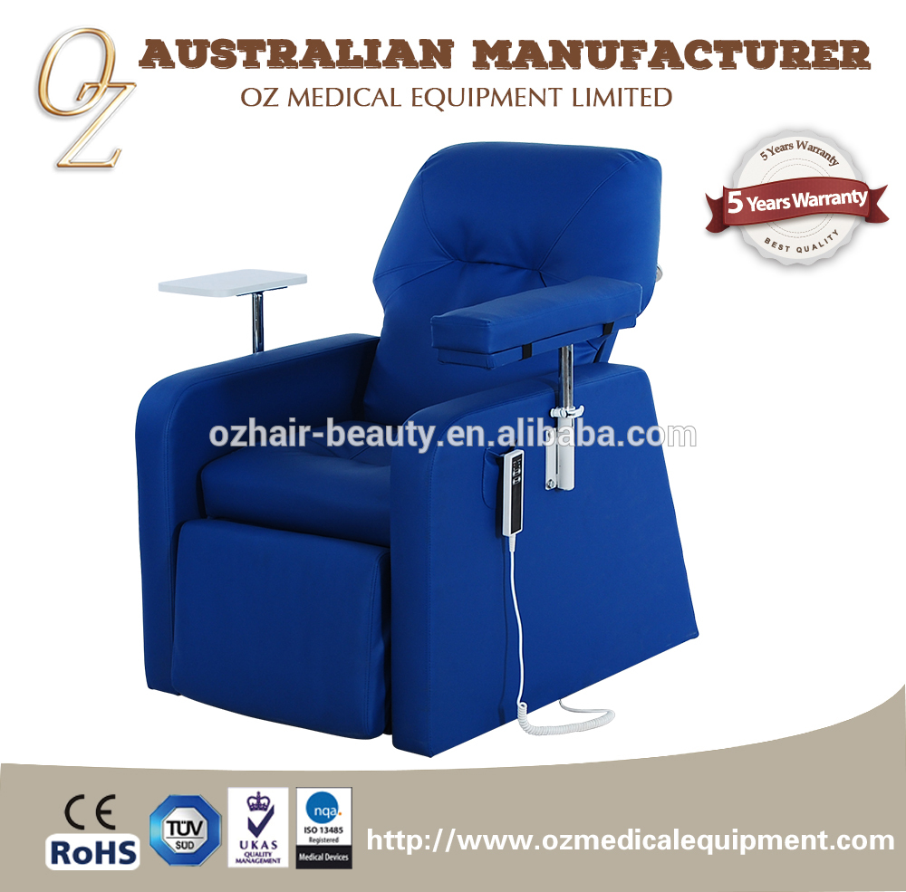 Nursing Home Furniture Chair PVC Leather Hospital Injection Chair Infusion Couch Medical Blood Transfusion Chair