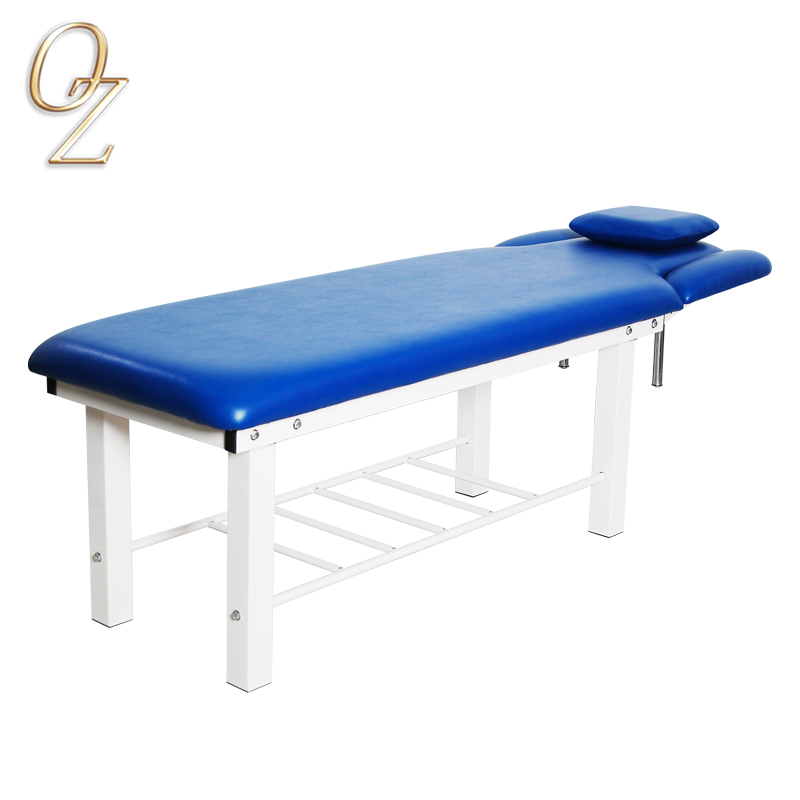 Medical Grade Fire Resistance Antimicrobial Portable Facial Bed Wholesalers Manual Adjustable Massage Table