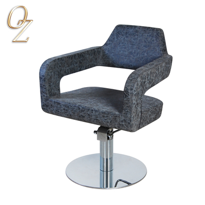 US Standard Australian Owned Gray Hydraulic PVC Vinyl Hair Salon Chair Factory