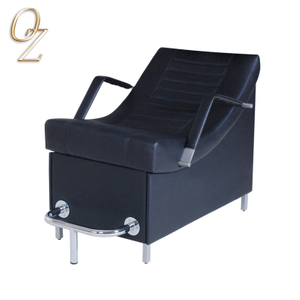 Top Quality PVC Leather Shampoo Backwash Unit Australian Standard Hair Salon Wash Basins Units Wholesale