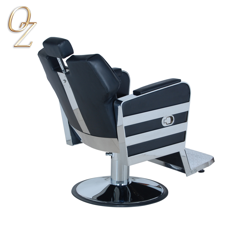 Barber Chair Manufacturer With Headrest High Density Foam Hair Cut Chairs High Density Foam Salon Equipment