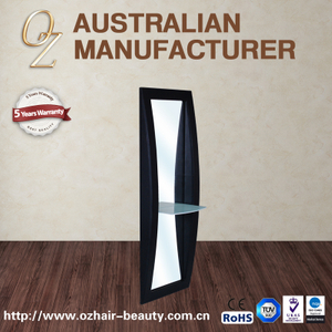 Modern Cosy Mirror Salon Standing Wall Mirror Stations Salon Wall Decoration Mirror