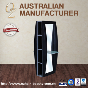 Beauty Salon Mirror Manufacturing Double Side Mirror Barber Station Make up Mirrors