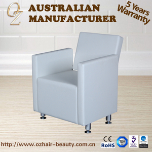 White Quality Leather Shampoo Chair Reclinable Backwash Chair Salon Mulit Function Salon Use Chair