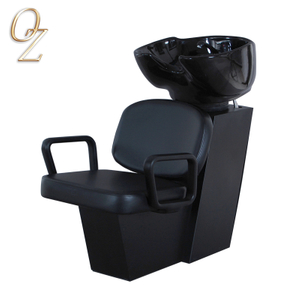 Backwash Shampoo Units For Beauty Salon Hair Washing Chair Classic Chair Design Shampoo Chair With Basin