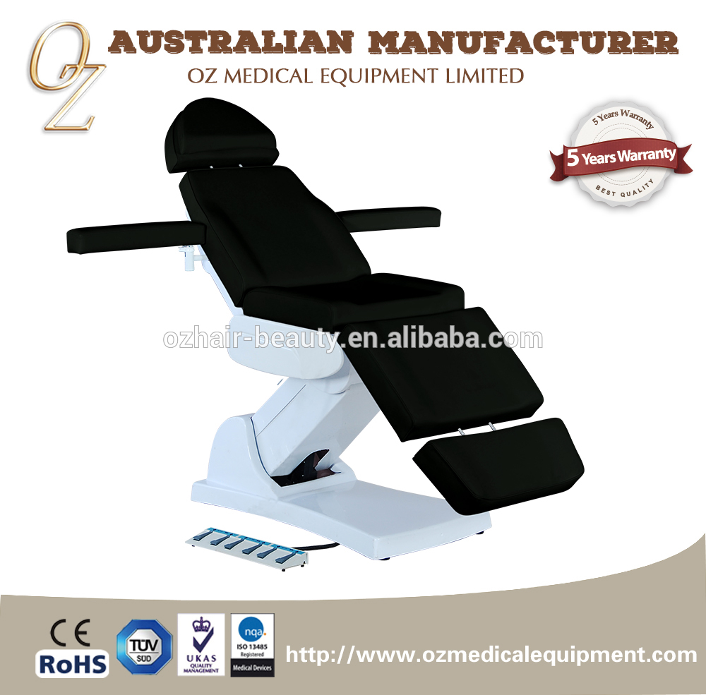 Motorized Examination Medical Bed ISO Approved Treatment Equipment Adjustable Hospital Bed