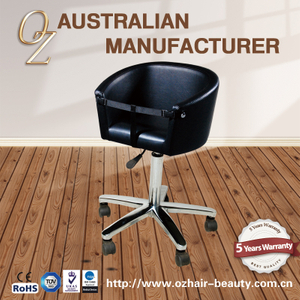 Durable Hair Cutting Stool Kids Salon Chair For Sales
