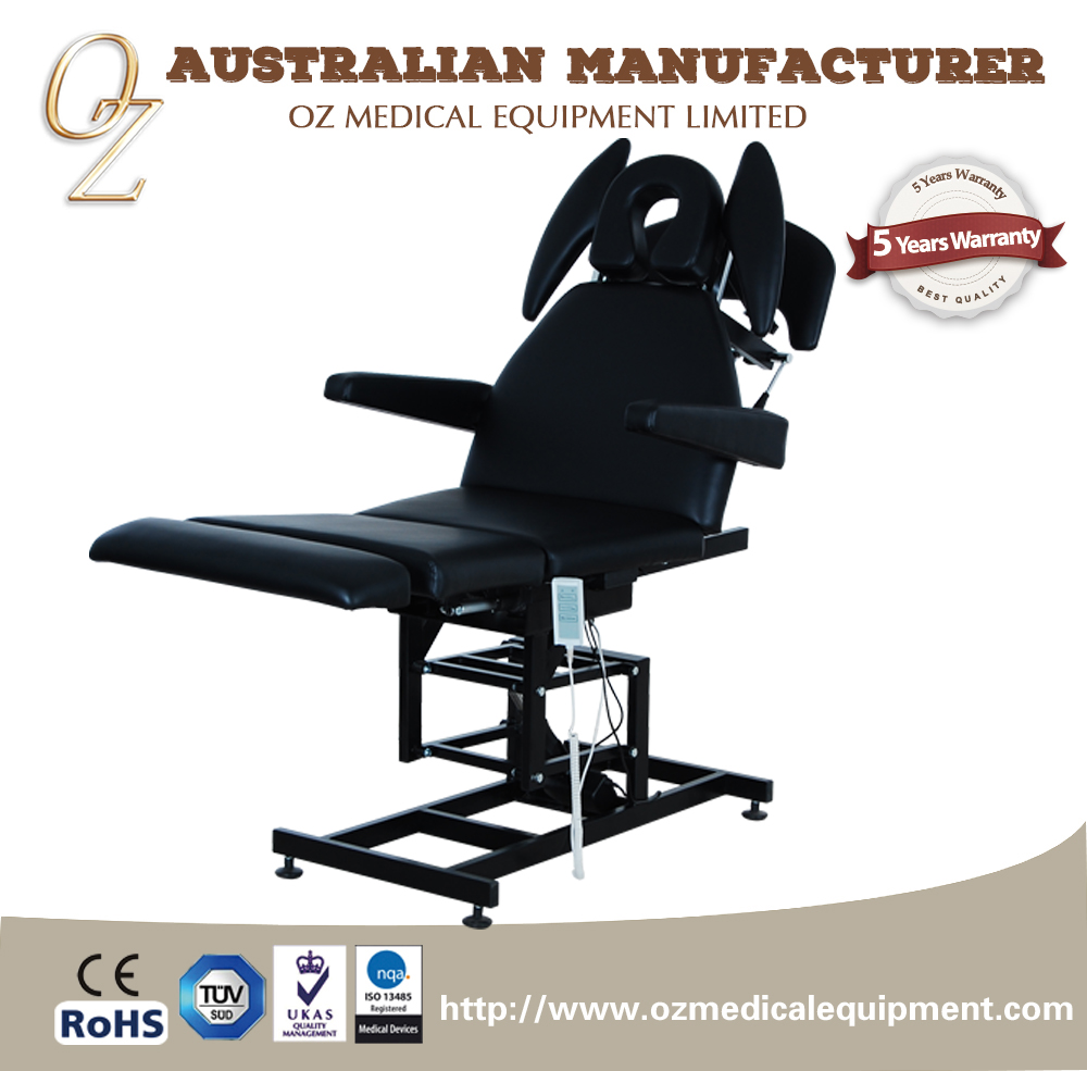 Hospital Examination Couch Bed Electric Manual Treatment Bed Osteopathic Treatment Table