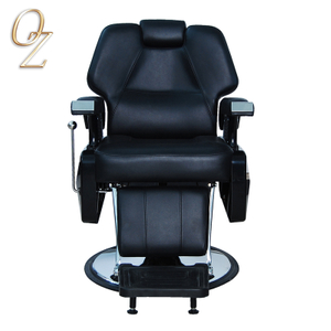 Wholesale Barber Chair Factory In China Barber Shop Hair Cutting Chair Modern Hydraulic Reclining Barber Shop Equipment