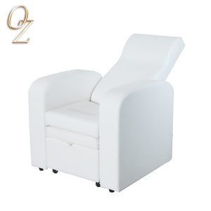 White Massage Chair Foot Massage Sofa Pedicure Chairs