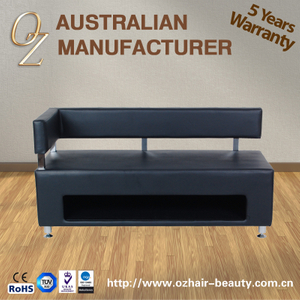 PVC Leather Waiting Sofa Set Waiting Chair Hair Salon Sofa