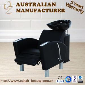 PVC Leather Hairdressing Equipment Hair Washing Chair Shampoo Chair